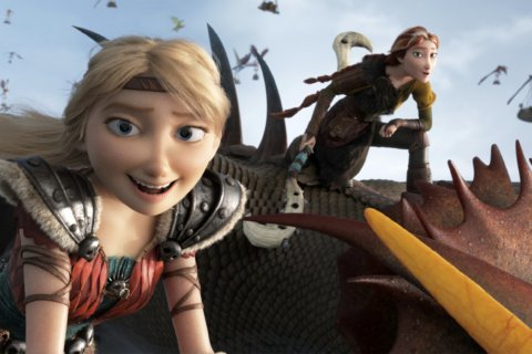 'How to Train Your Dragon' tops Oscar weekend with $55.5M