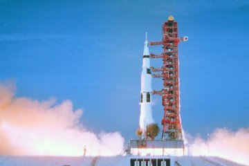 WATCH: Apollo 11 astronaut returns to launch pad 50 years later