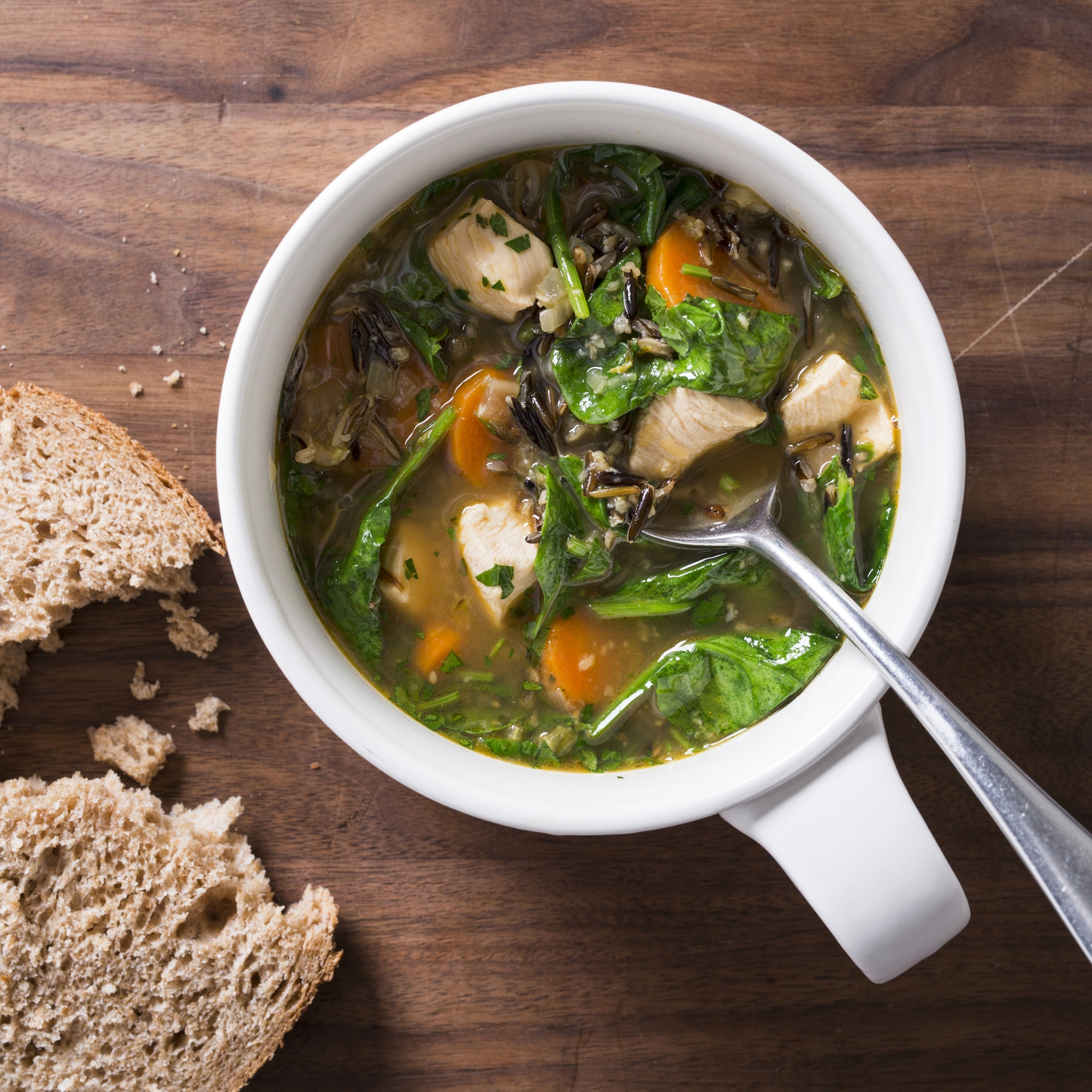 Turning Chicken Soup Into A Comforting, Nutrient-dense