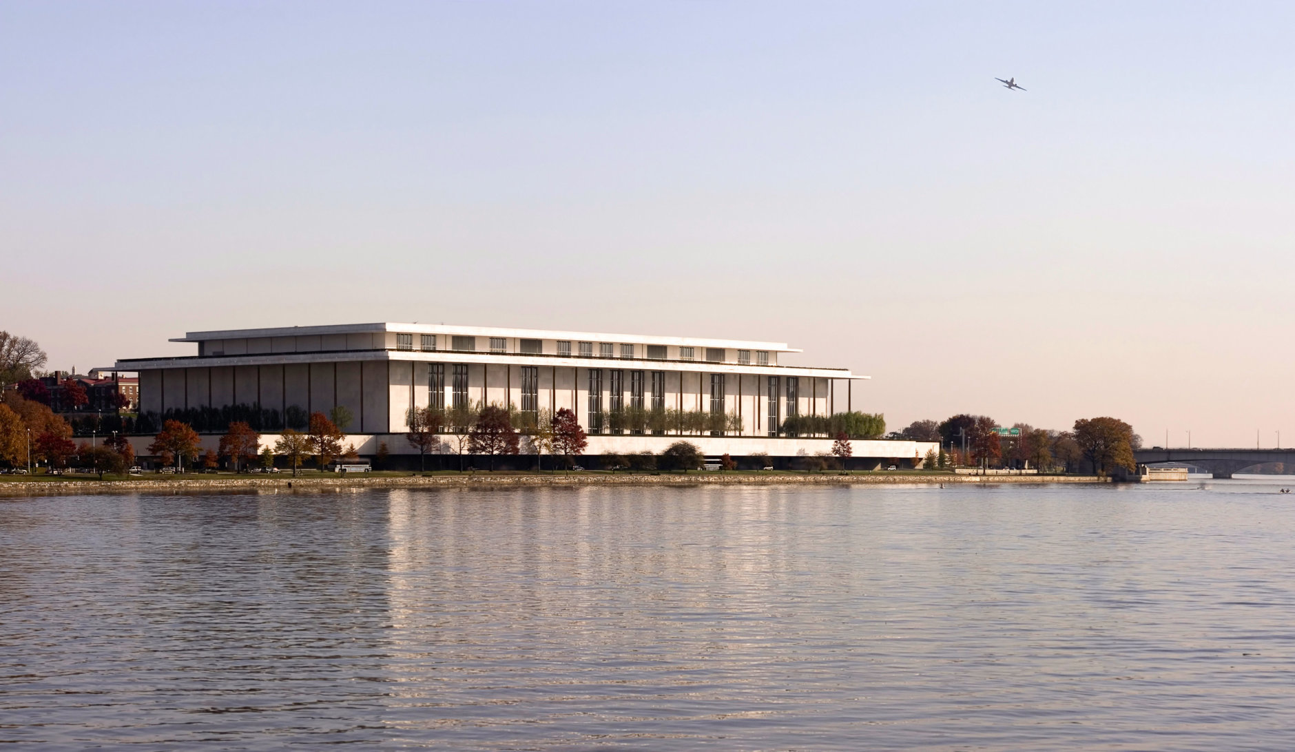 Kennedy Center from the Potomac