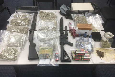 Maryland man facing drug charges had weapons and cash, too, police say