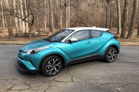 Car Review: Toyota's new subcompact crossover high on style, light on power