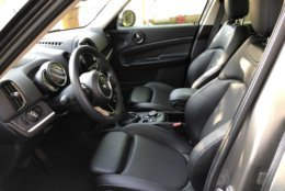 View of the driver's seat of the compact crossover. (WTOP/Mike Parris)