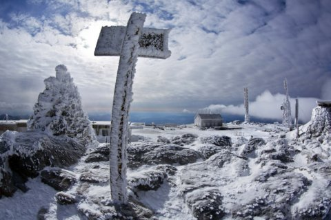 Northeast's highest mountain records wind gust of 171 mph