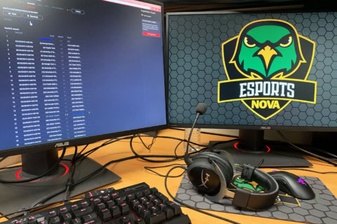 NOVA Esports competing with, beating 4-year universities