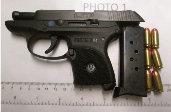 TSA officials found this loaded gun at Norfolk International Airport. (Courtesy TSA/Lisa Farbstein)