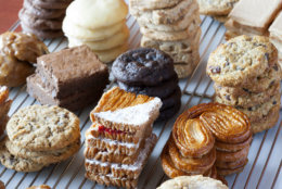 The bakery's new location has a full menu, with pastries, cookies, cakes, macarons and coffee, along with soups, salads, quiches and sandwiches. (Courtesy: Praline Bakery and Bistro)