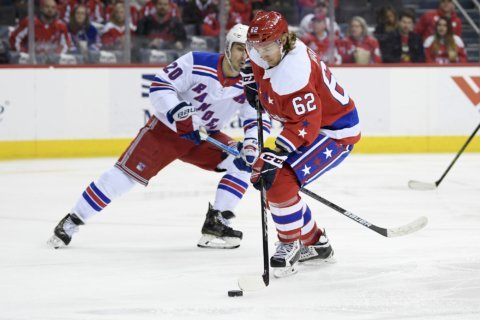 Capitals look to win another thriller with Rangers on Sunday