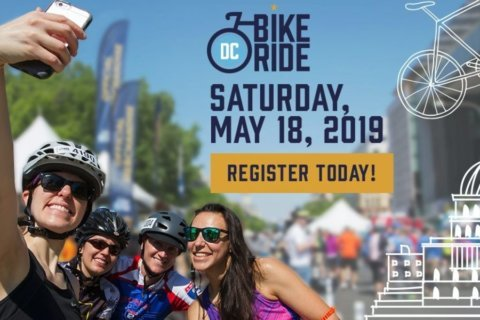 DC Bike Ride brings weekend street closures