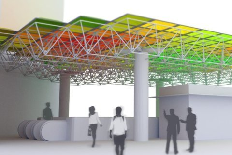 Ballston Metro station to become home to colorful, motion-activated art project