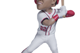 A Juan Soto Bobblehead presented by M&M's will be given to the first 25,000 fans on April 12. (Courtesy the Washington Nationals)