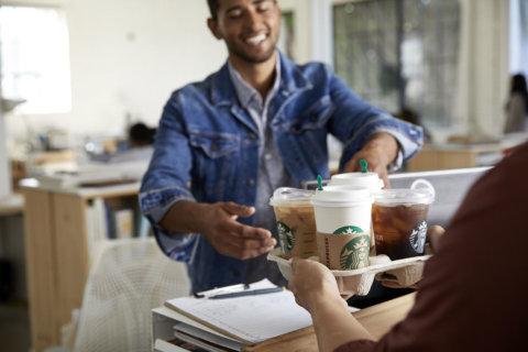 Starbucks starts DC-area delivery