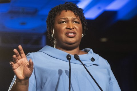 AP FACT CHECK: Dem response: Stacey Abrams on economy