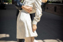 """J. Seward Johnson is also sculpted this likeness of """"The Kiss"""" photo. (Courtesy National Harbor)"""