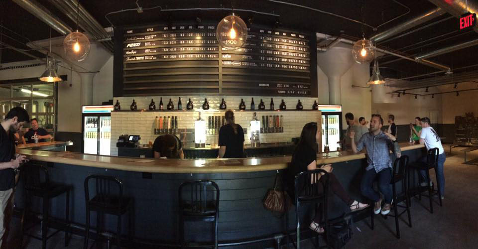 Atlas Brew Works, which opened its first brewery and tap room in Northeast D.C.'s Ivy City in 2012, will open a second location, in Capital Riverfront's Navy Yard neighborhood, in the spring of 2020. (Courtesy Atlas Brew Works)