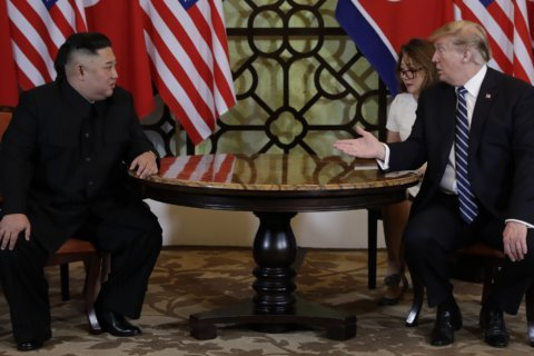 Trump, Kim end summit with standoff over easing US sanctions