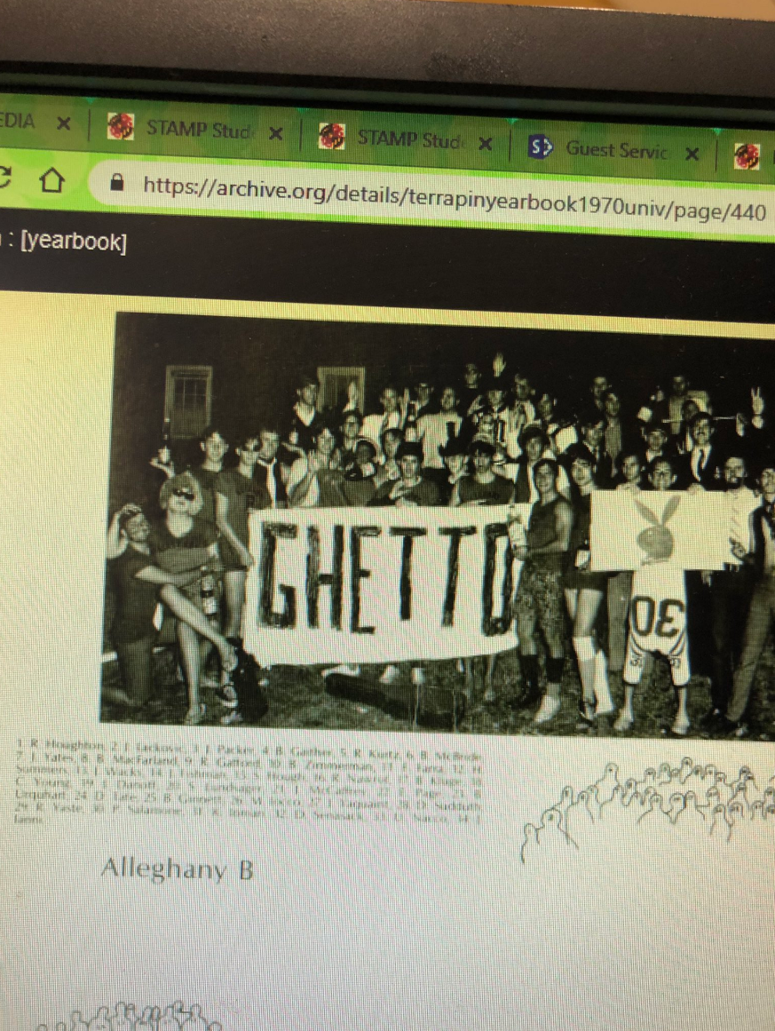 U Md  student finds blackface photos in old yearbooks | WTOP