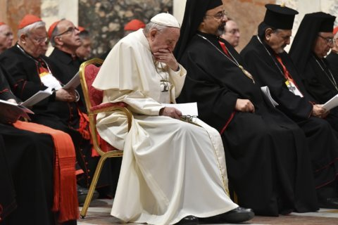 Pope vows to end abuse cover-ups but victims disappointed
