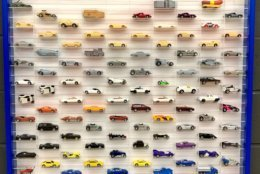 Some Bruce Paschal's Hot Wheels collection, which is estimated to be worth $1.5 million. (Courtesy Bruce Pascal)