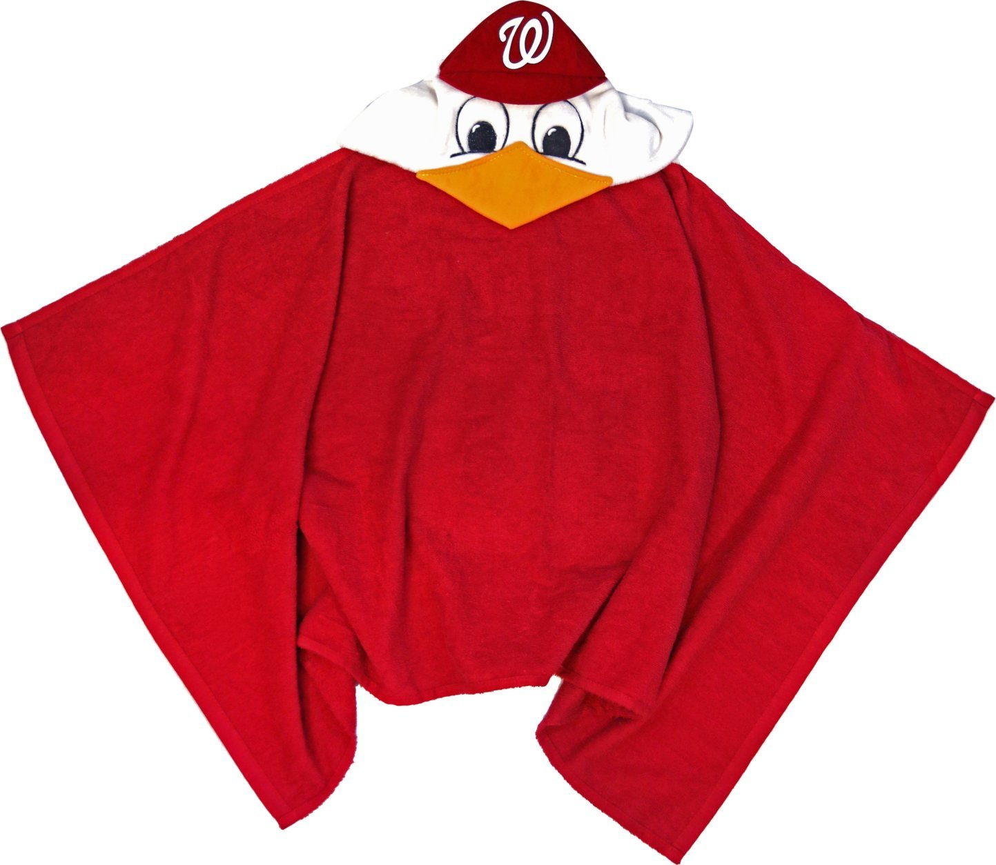 A Screech Hooded Towel will be given to the first 10,000 fans ages 12 and under on June 23. (Courtesy the Washington Nationals)