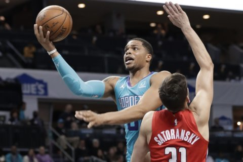 Wizards fall to Hornets 123-110