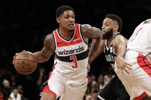 Celtics take on the Wizards on 4-game skid