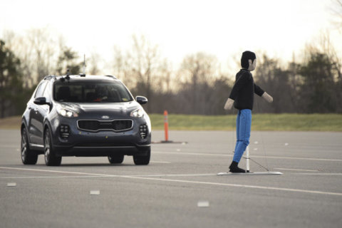 Which cars have the best pedestrian crash avoidance systems?
