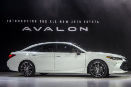 The 2019 Toyota Avalon is presented at the North American International Auto Show, Monday, Jan. 15, 2018, in Detroit. (AP Photo/Tony Ding)