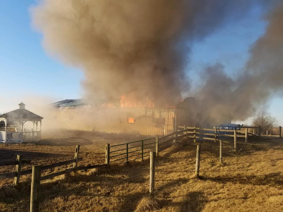 8 horses killed in Frederick Co  barn fire | WTOP