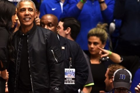 44th President Barack Obama's 'O-bomber' jacket is breaking the internet