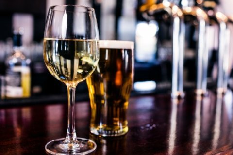 Beer before wine is fine? No, you'll still be hungover