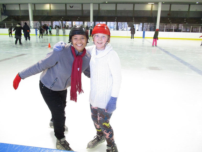 """There are a lot of kids who actually use the rink as a safe space because there is an absence of activity, particularly for girls in middle school,""a board member told WTOP. (Courtesy Friends of Fort Dupont Ice Arena)"