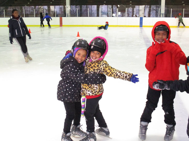The rink offers a variety of programs for kids. (Courtesy Friends of Fort Dupont Ice Arena)