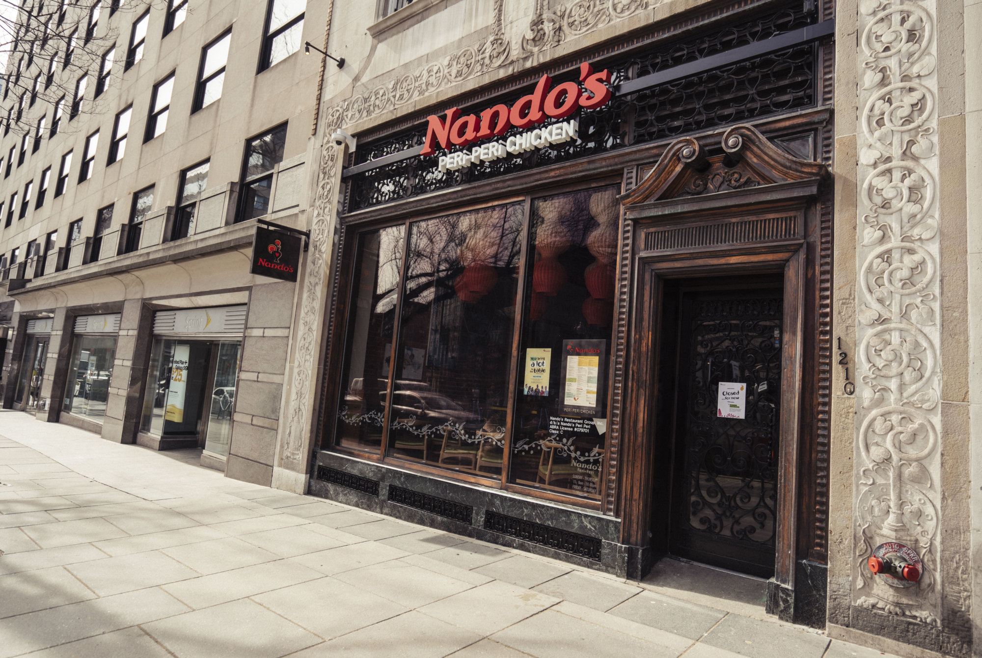 Nando S Dupont Reopens Offers Free Chicken Wtop