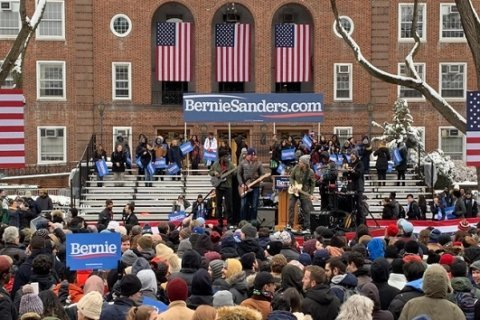WATCH: Sanders kicks off 2020 campaign with rally in his native Brooklyn