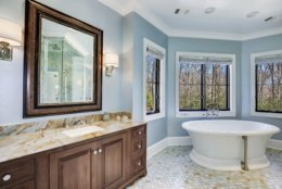 One of the bathrooms. (Courtesy Washington Fine Properties)