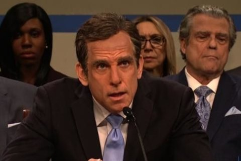 'Saturday Night Live' showcases the hearing of Ben Stiller's Michael Cohen