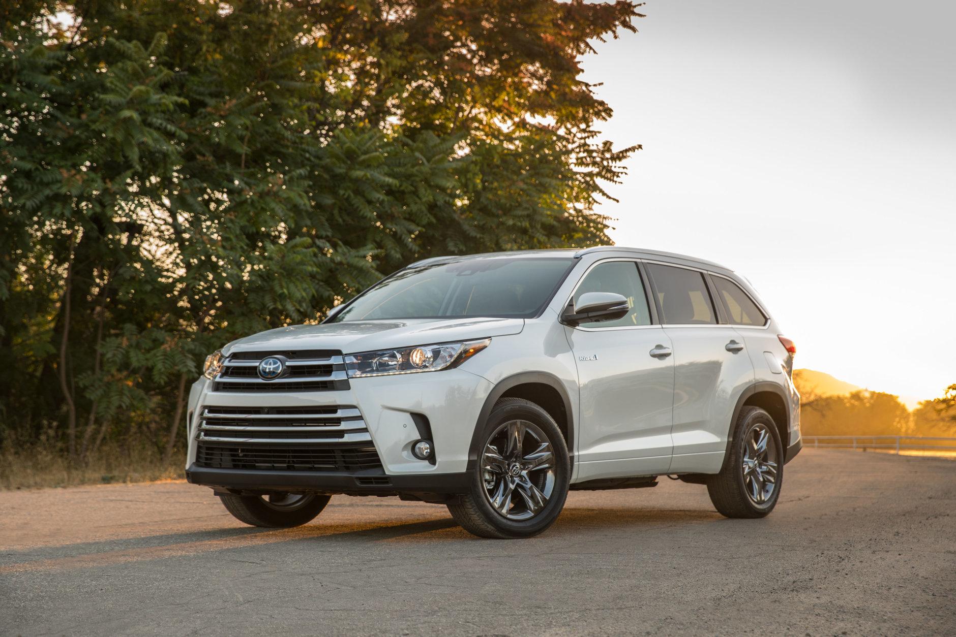 No. 10: Toyota Highlander Hybrid – 1.6 percent