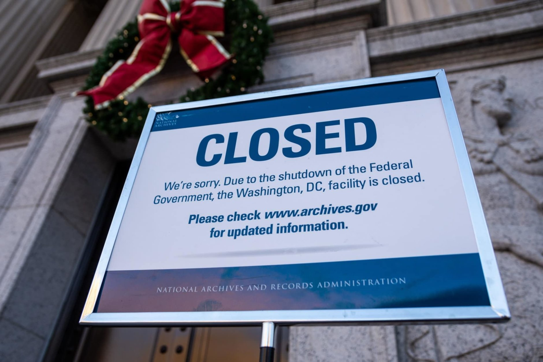 """<p><strong>The federal government shutdown</strong></p> <p>Speaking of national stories that also hit locally: Much of the <a href=""""https://wtop.com/media-galleries/2019/01/photos-longest-government-shutdown-in-us-history/"""" target=""""_blank"""" rel=""""noopener"""">federal government shut down</a> on Dec. 22, 2018, leaving about 800,000 federal workers either temporarily out of work or working without pay until funding for the operations of the government was restored Jan. 25, 2019.</p> <p>The standoff was over President Donald Trump's demand for $5.7 billion in federal funding for a border wall with Mexico. Trump had long promised such a wall in his campaign, though he had always said Mexico, not American taxpayers, would pay for it.</p> <p>Most federal workers, including tens of thousands in the D.C. area, missed two paychecks as a result of the 35-day shutdown, the longest in American history.</p> <p>It also caused a delay in the State of the Union address, as House Speaker Nancy Pelosi, who regained the speakership after the 2018 midterms, changed the date of her invitation to Trump.</p> <p>The <a href=""""https://wtop.com/government/2019/01/talks-start-as-senate-rejects-2-plans-for-ending-shutdown/"""" target=""""_blank"""" rel=""""noopener"""">bill to reopen the government</a> contained no new money for a wall; the funding only lasted until Feb. 15. At that point, Trump made good on a long-standing threat and declared the situation on the southern border a national emergency, giving himself the power to divert money that Congress had approved for various purposes and use it on a border wall instead.</p> <p>Since then, the issue has been tied up in courts.</p>"""
