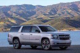 No. 6: Chevrolet Suburban – 2.4 percent on the road in D.C. have 200,000-plus miles.  (Courtesy General Motors)