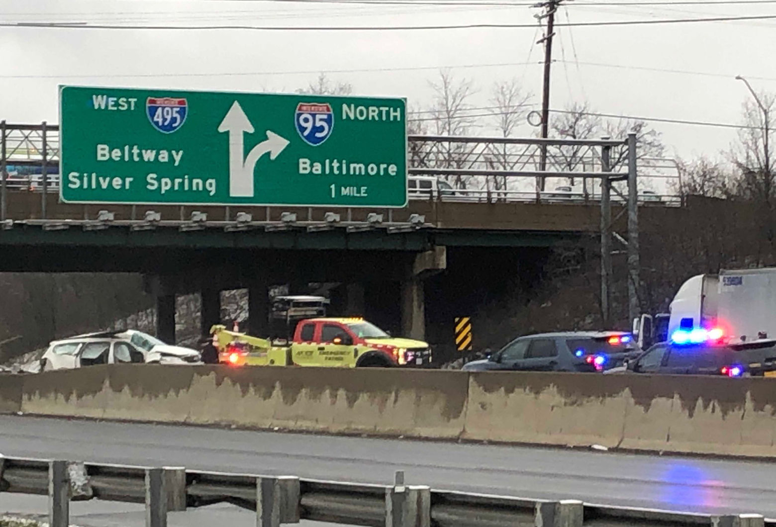 Police ID person killed in Outer Loop crash | WTOP