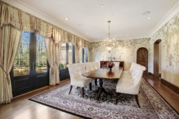 The dining room. (Courtesy Washington Fine Properties)
