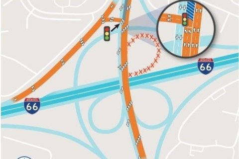 I-66 toll lane work to cause temporary changes at Va. 123