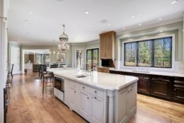The top-of-the-line kitchen. (Courtesy Washington Fine Properties)
