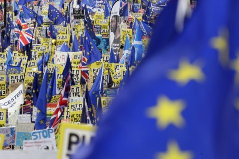 Abandon Brexit, say London marchers — but will lawmakers listen?