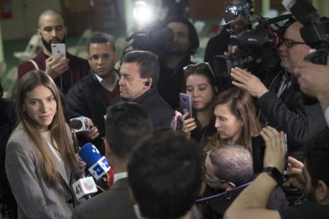 Venezuelan opposition leader's wife emerges as potent force