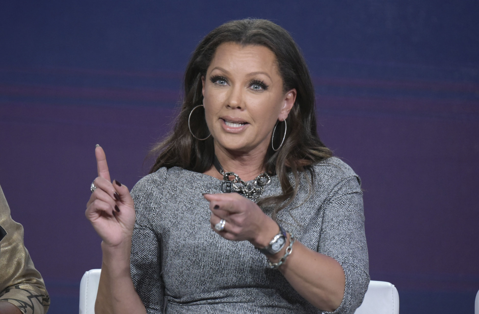 """Vanessa Williams attends the """"Daytime Divas"""" panel at Viacom's VH1 portion of the Winter Television Critics Association press tour on Friday, Jan. 13, 2017, in Pasadena, Calif. (Photo by Richard Shotwell/Invision/AP)"""