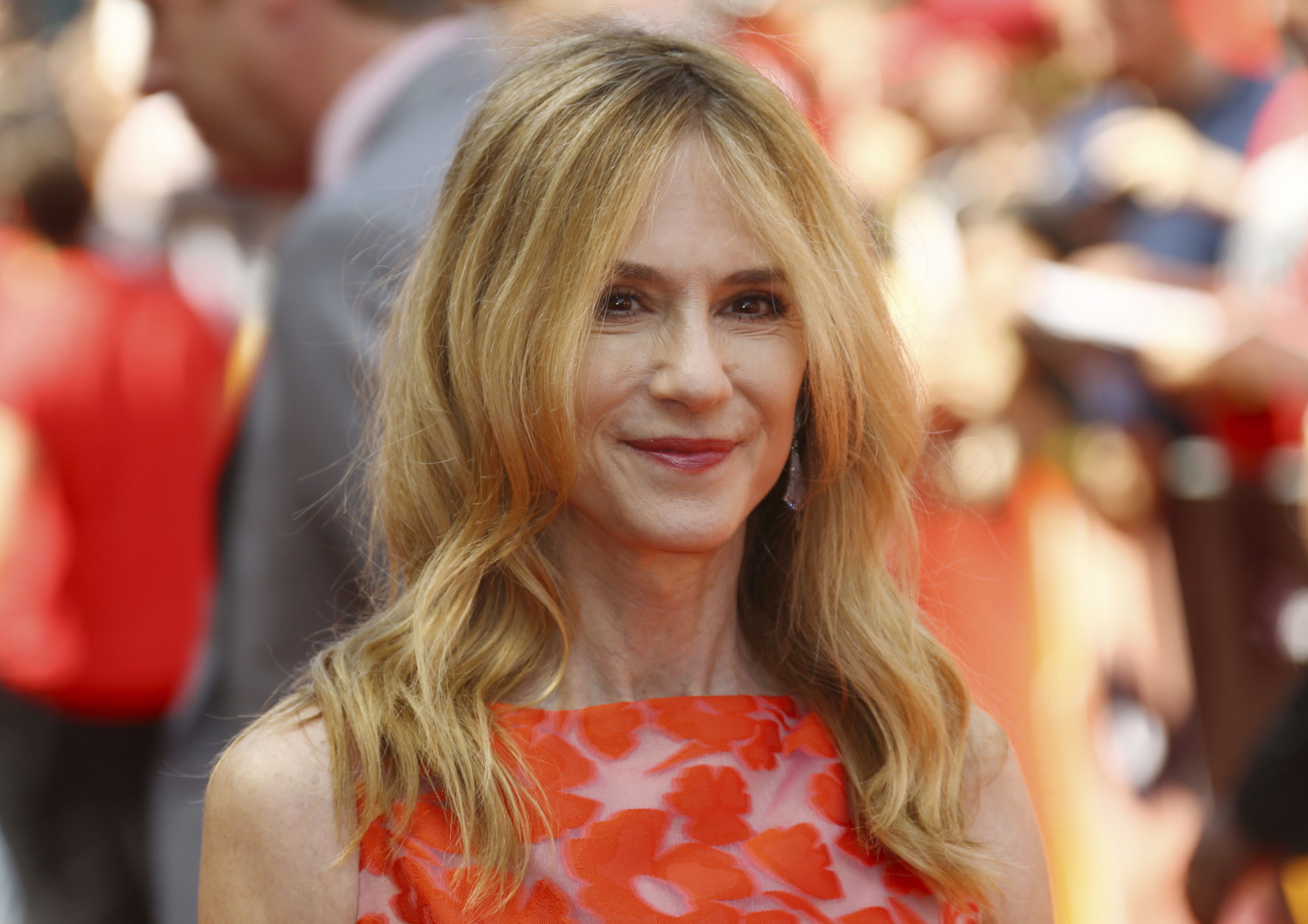 Actress Holly Hunter poses for photographers upon arrival at the UK premiere of Incredibles 2 in central London, Sunday, July 8, 2018. (Photo by Joel C Ryan/Invision/AP)