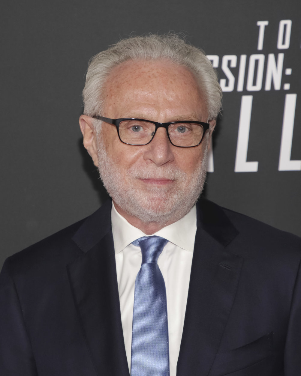 """Journalist Wolf Blitzer attends the U.S. premiere of """"Mission: Impossible - Fallout"""" at The Smithsonian National Air and Space Museum on Sunday, July 22, 2018 in Washington. (Photo by Brent N. Clarke/Invision/AP)"""