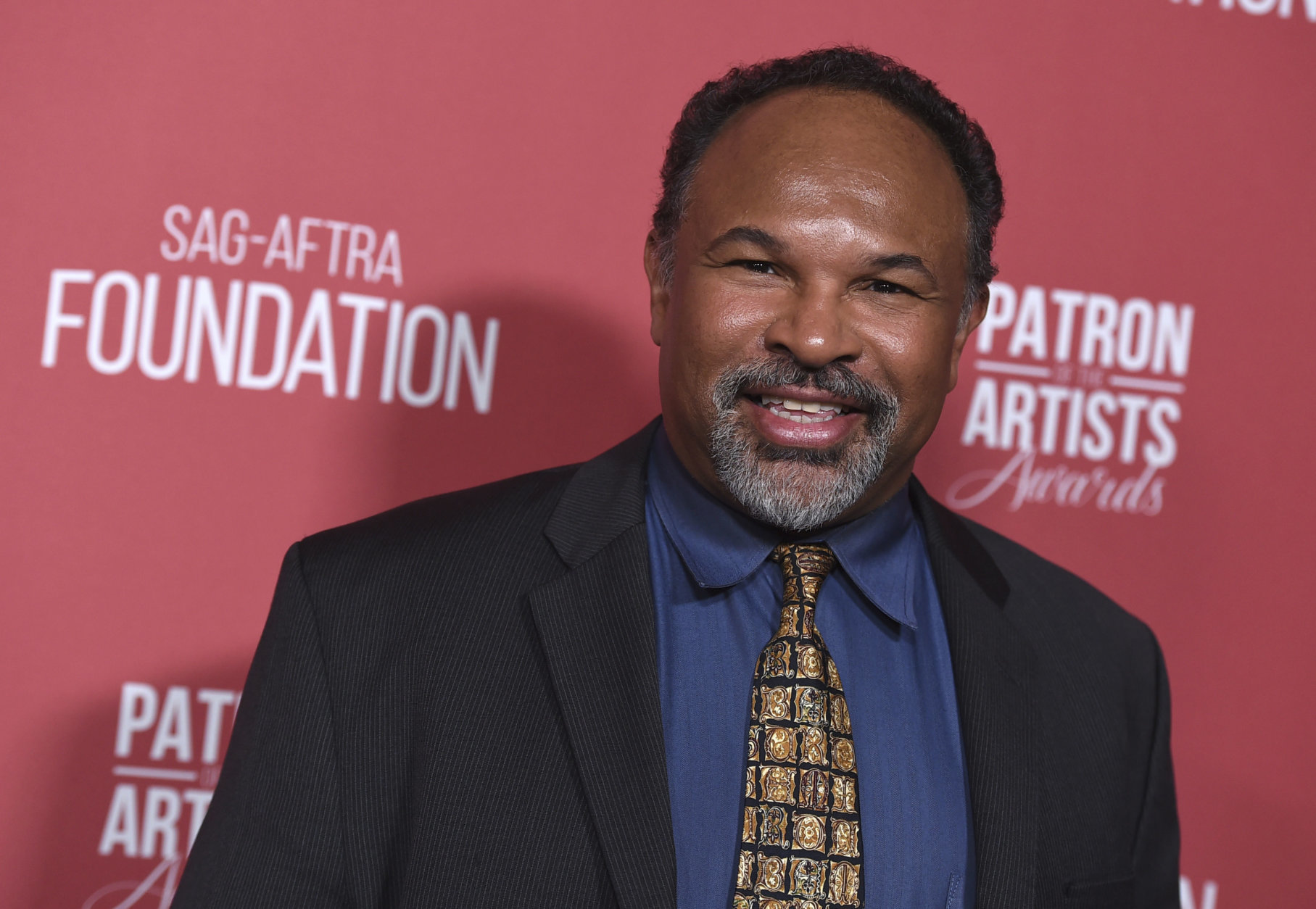 Geoffrey Owens arrives at the Patron of the Artists Awards on Thursday, Nov. 8, 2018, at the Wallis Annenberg Center for the Performing Arts in Beverly Hills, Calif. (Photo by Jordan Strauss/Invision/AP)